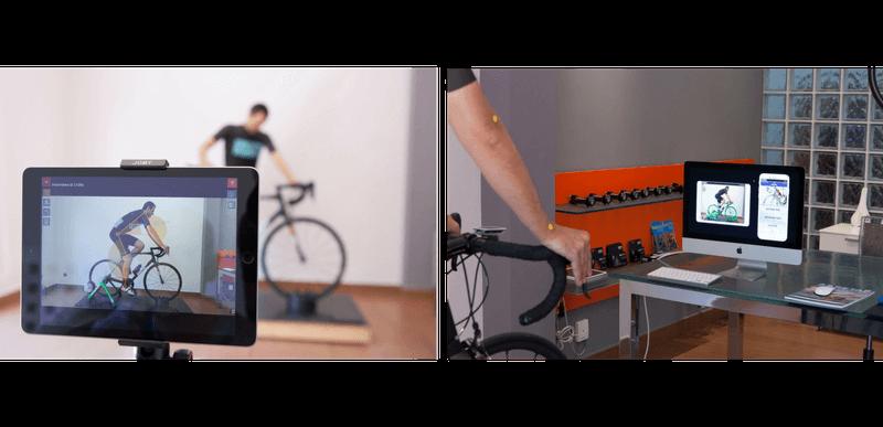 Sistema de captura de imagen biomecanica del ciclismo